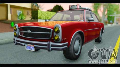 GTA 5 Benefactor Glendale for GTA San Andreas