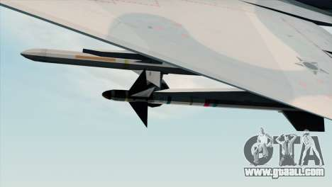 Dassault Mirage 2000 Forca Aerea Brasileira for GTA San Andreas right view