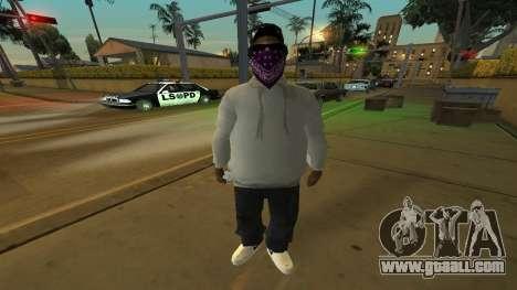 Ballas Skin Pack for GTA San Andreas third screenshot