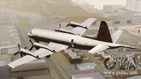 Lockheed P-3C Orion JMSDF Shimofusa for GTA San Andreas left view