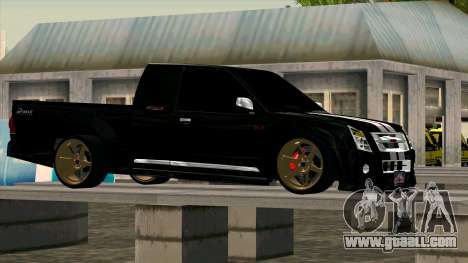 Isuzu D-Max X-Series for GTA San Andreas left view