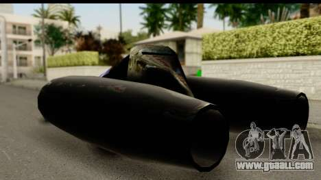 Jet Car for GTA San Andreas left view