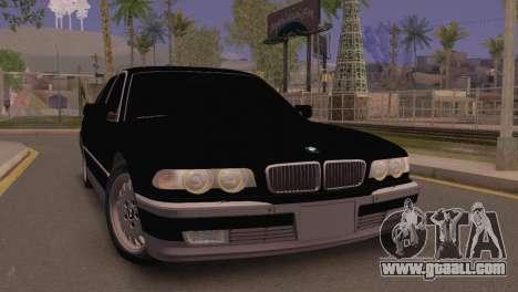 BMW 750iL E38 for GTA San Andreas