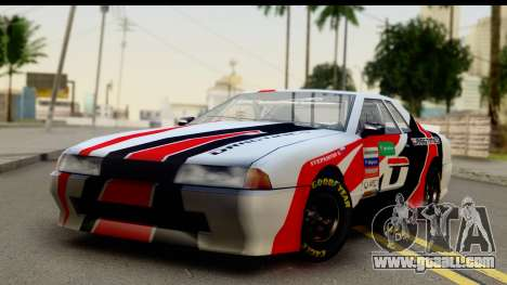 Elegy NASCAR PJ 2 for GTA San Andreas right view