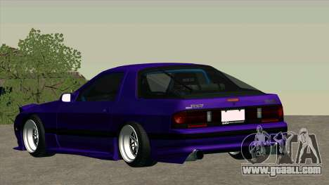 Mazda RX-7 for GTA San Andreas side view