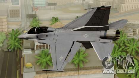F-16D Fighting Falcon for GTA San Andreas left view