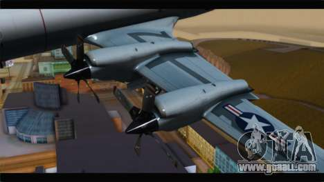 Lockheed P-3C Orion US Navy VP-24 for GTA San Andreas right view