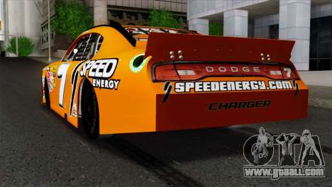 NASCAR Dodge Charger 2012 Short Track for GTA San Andreas left view
