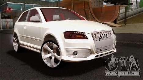 Audi S3 2011 for GTA San Andreas