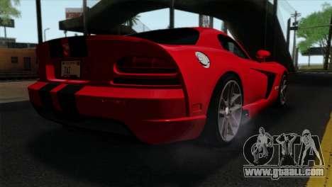 Dodge Viper SRT10 v1 for GTA San Andreas left view