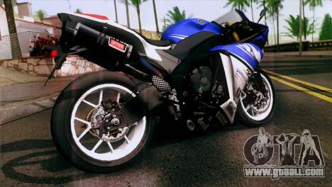 Yamaha YZF-R1 PJ for GTA San Andreas left view
