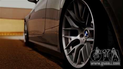 BMW M3 E92 GTS 2012 v2.0 Final for GTA San Andreas upper view