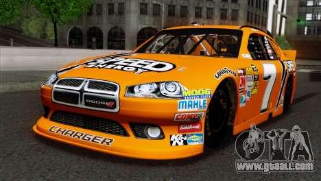 NASCAR Dodge Charger 2012 Short Track for GTA San Andreas