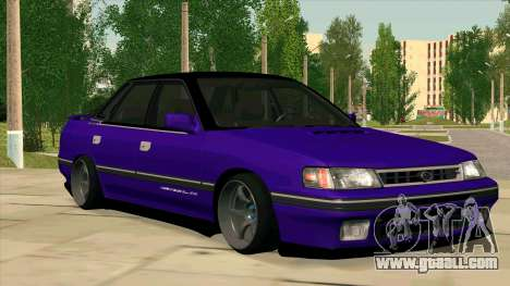 Subaru Legacy RS for GTA San Andreas inner view