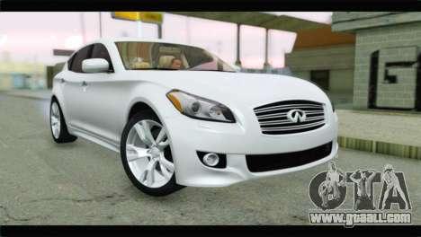 Infiniti M56 for GTA San Andreas