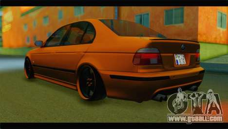 BMW M5 E39 Simply Cleaned for GTA San Andreas left view