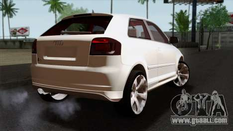 Audi S3 2011 for GTA San Andreas left view
