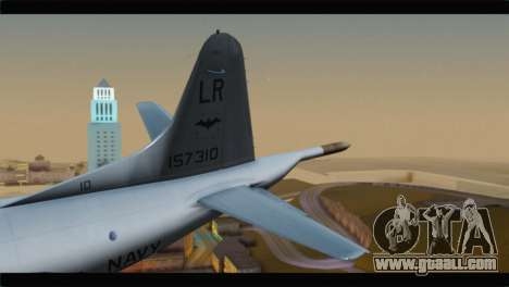 Lockheed P-3C Orion US Navy VP-24 for GTA San Andreas back left view