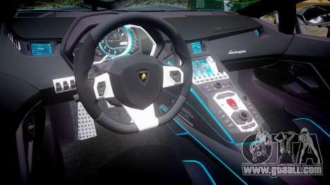 Lamborghini Aventador TRON Edition [EPM] Updated for GTA 4 inner view