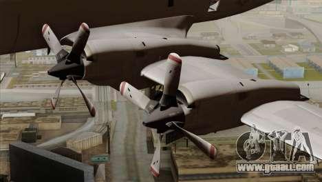 Lockheed P-3C Orion JMSDF Shimofusa for GTA San Andreas right view