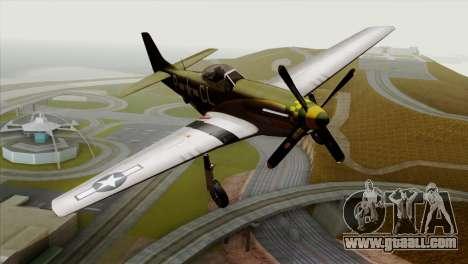 P-51D Mustang Da Quake for GTA San Andreas