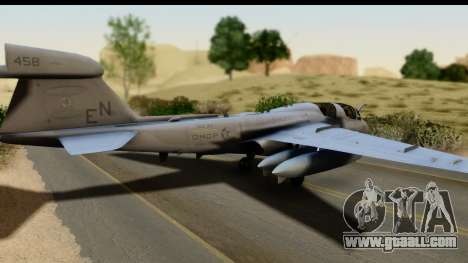 Northrop Grumman EA-6B VAQ-194 Skyshields for GTA San Andreas left view