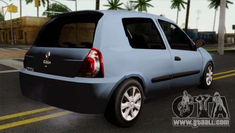 Renault Clio Mio 3P for GTA San Andreas left view
