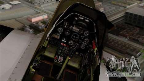 P-51D Mustang Da Quake for GTA San Andreas right view