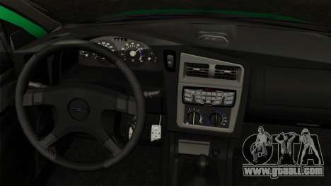 Opel Astra G 1999 Police for GTA San Andreas back left view