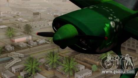 GTA 5 Stuntplane Spunck for GTA San Andreas right view