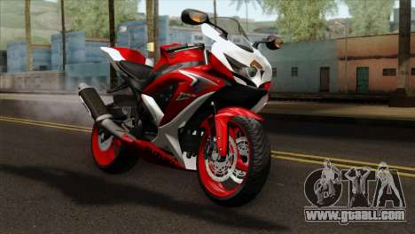 Suzuki GSX-R 2015 Red & White for GTA San Andreas