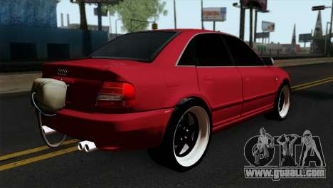 Audi S4 2000 Drag Version for GTA San Andreas left view