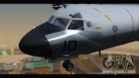Lockheed P-3C Orion US Navy VP-24 for GTA San Andreas back view