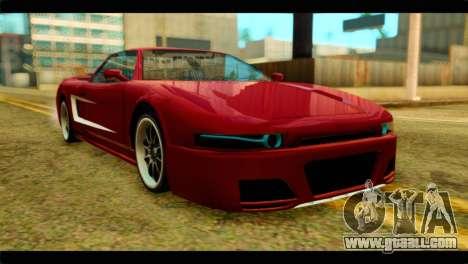 Infernus Rapide S Stock for GTA San Andreas