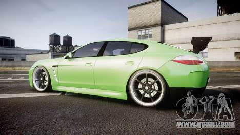 Porsche Panamera Turbo 2010 for GTA 4 left view