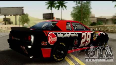Elegy NASCAR PJ for GTA San Andreas left view
