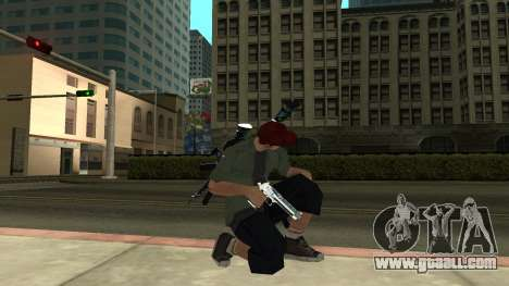 Guns Pack for GTA San Andreas second screenshot