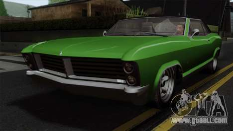 GTA 5 Albany Buccaneer IVF for GTA San Andreas
