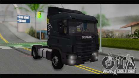 Scania 164L 580 V8 for GTA San Andreas