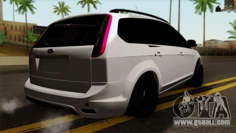 Ford Focus Wagon for GTA San Andreas left view