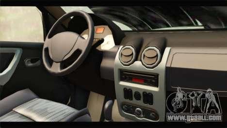 Dacia Sandero Dirty Version for GTA San Andreas right view