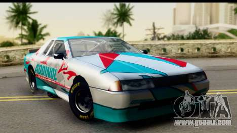 Elegy NASCAR PJ for GTA San Andreas right view