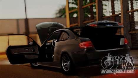 BMW M3 E92 GTS 2012 v2.0 Final for GTA San Andreas engine