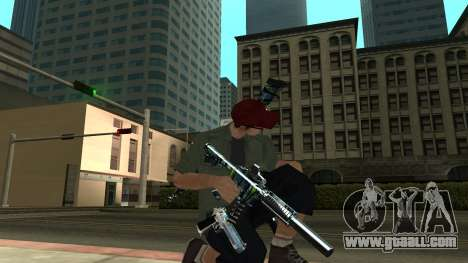 Guns Pack for GTA San Andreas fifth screenshot