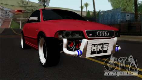 Audi S4 2000 Drag Version for GTA San Andreas
