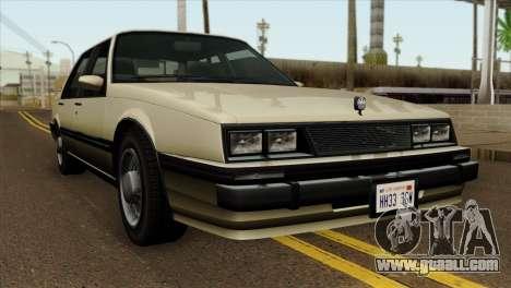 GTA 4 Willard II for GTA San Andreas