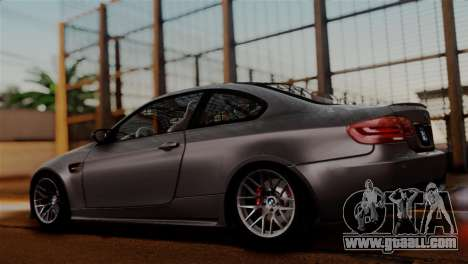 BMW M3 E92 GTS 2012 v2.0 Final for GTA San Andreas inner view