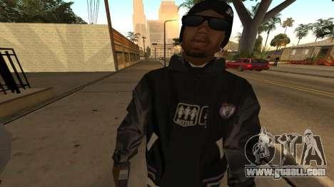 Ballas Skin Pack for GTA San Andreas forth screenshot