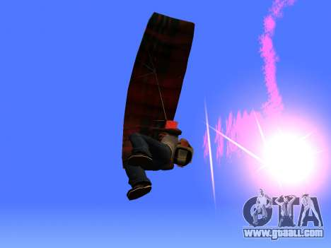 The Parachute Flare for GTA San Andreas third screenshot