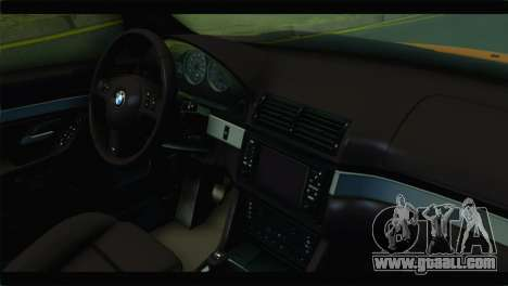 BMW M5 E39 Simply Cleaned for GTA San Andreas right view
